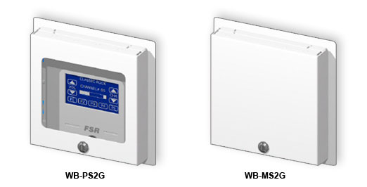 RCI Custom WB-MS2G, MS3G, MS4G & WB-PS2G, MS3G, MS4G Surface Locking Wall Box Covers